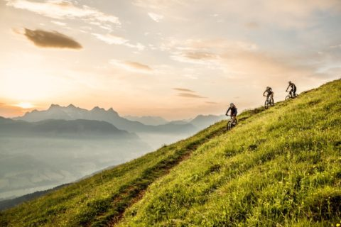 Radfahren in Kirchberg